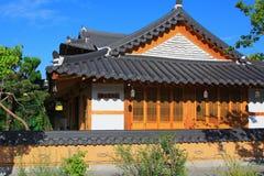 Villaggio della Corea Jeonju Hanok fotografia stock libera da diritti