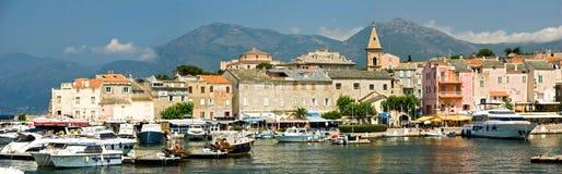 Villaggio della Corsica (Francia) Immagini Stock Libere da Diritti