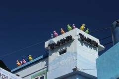 Villaggio della cultura di Gamcheon Fotografie Stock