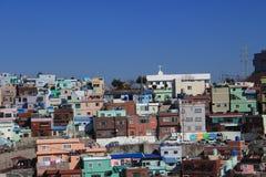 Villaggio della cultura di Gamcheon Immagini Stock