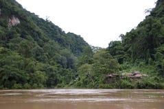Villaggio della foresta pluviale Fotografia Stock Libera da Diritti