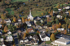 Villaggio della Nuova Inghilterra Immagine Stock
