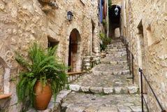 Villaggio della sommità del san Paul de Vence Fotografia Stock Libera da Diritti