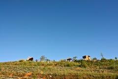 Villaggio della tribù della collina Fotografia Stock Libera da Diritti