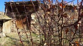 Villaggio delle case della Turchia archivi video