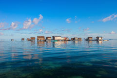 Villaggio dello zingaro del mare Immagini Stock