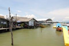 Villaggio dello zingaro del mare Fotografie Stock Libere da Diritti