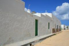 Villaggio in deserto Fotografia Stock Libera da Diritti