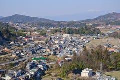 Villaggio di Achi, Nagano, Giappone Fotografia Stock Libera da Diritti