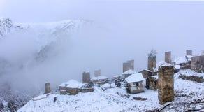Villaggio di Adishi Fotografia Stock