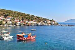 Villaggio di Agia Kyriaki Fotografie Stock