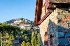 Villaggio di Agros, chiesa di Timiou Prodromou Distretto di Limassol, CY Fotografie Stock Libere da Diritti