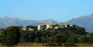 Villaggio di Aleria Corsica Fotografia Stock