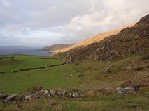 Villaggio di Allihies, penisola di beara, sughero Irlanda Fotografia Stock Libera da Diritti