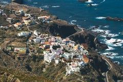 Villaggio di Almaciga in Tenerife, Spagna Fotografie Stock