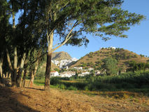 Villaggio di Alora Fotografia Stock