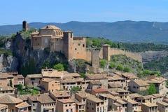 Villaggio di Alquezar in Spagna. Immagine Stock Libera da Diritti