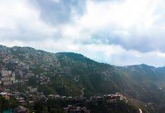 Villaggio di alta montagna in Himalaya Immagine Stock Libera da Diritti