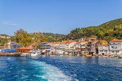 Villaggio di Anadolu Kavagi immagine stock
