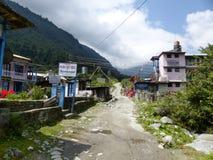 Villaggio di Bagarchhap, Nepal Fotografia Stock Libera da Diritti