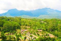 Villaggio di Bali Immagini Stock