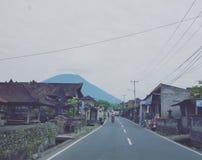 Villaggio di Bali Fotografie Stock