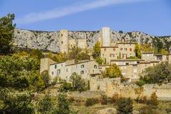 Villaggio di Bargème Immagine Stock