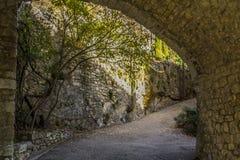 Villaggio di Bargème Fotografia Stock