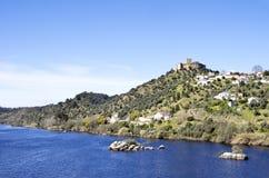 Villaggio di Belver immagini stock libere da diritti