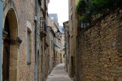 Villaggio di Belves, Francia Immagini Stock Libere da Diritti