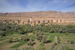 Villaggio di berbero Immagine Stock