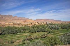 Villaggio di berbero Immagini Stock Libere da Diritti