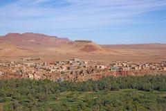 Villaggio di berbero Fotografia Stock