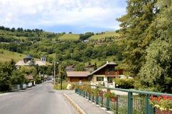 Villaggio di Bernex in Francia Immagini Stock Libere da Diritti