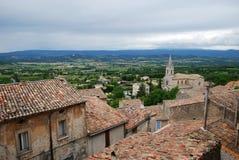 Villaggio di Bonnieux, Francia Fotografia Stock