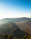 Villaggio di Bromo Fotografie Stock