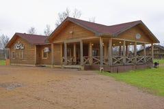 Villaggio di casa Shuvalovka della proprietà terriera magnifica Fotografia Stock
