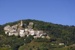 Villaggio di Casinca Immagini Stock