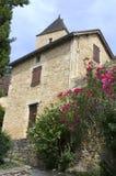 Villaggio di Castelnaud Fotografie Stock Libere da Diritti