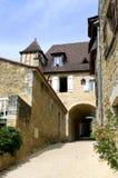 Villaggio di Castelnaud Immagine Stock Libera da Diritti