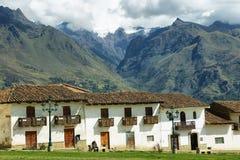 Villaggio di Chacas, Perù Immagine Stock