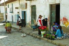 Villaggio di Chacas, Perù Immagine Stock Libera da Diritti
