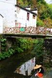 Villaggio di Changxi, il villaggio antico di stile di Huizhou in Cina Fotografie Stock