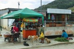 Villaggio di Chavin de Huanta, Perù Fotografia Stock Libera da Diritti