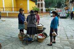 Villaggio di Chavin de Huanta, Perù Immagini Stock Libere da Diritti