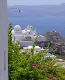 Villaggio di Chora su Milos Island Immagine Stock