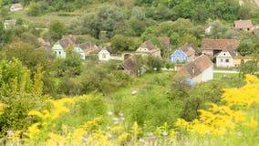 Villaggio di Copsa Mare Saxon Fotografie Stock