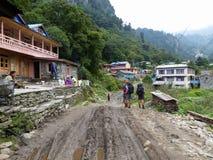 Villaggio di Danakyu, Nepal Fotografie Stock