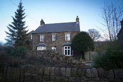 Villaggio di Derbyshire fotografia stock libera da diritti