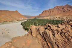 Villaggio di deserto Fotografia Stock Libera da Diritti